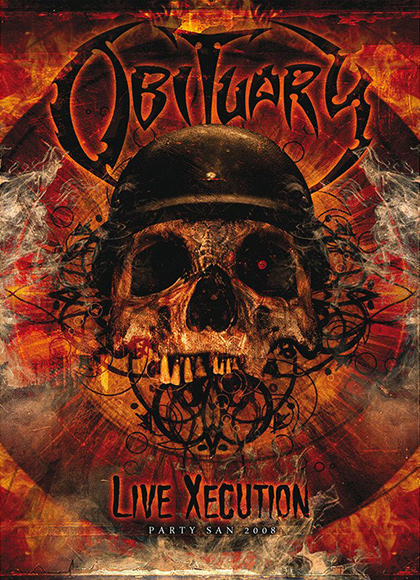 Obituary - Live Xecution - Party.San 2008 recenzja okładka review cover